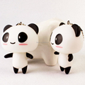 manufacturers custom 3d pvc Panda keychain games accessories