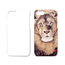 Heat Transfer Printing Blank 3D Sublimation Printable Phone Back Cover Case For iPhone 7 7 Plus Custom