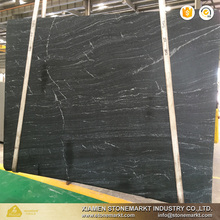 StoneMarkt China Via Lattea black granite slabs