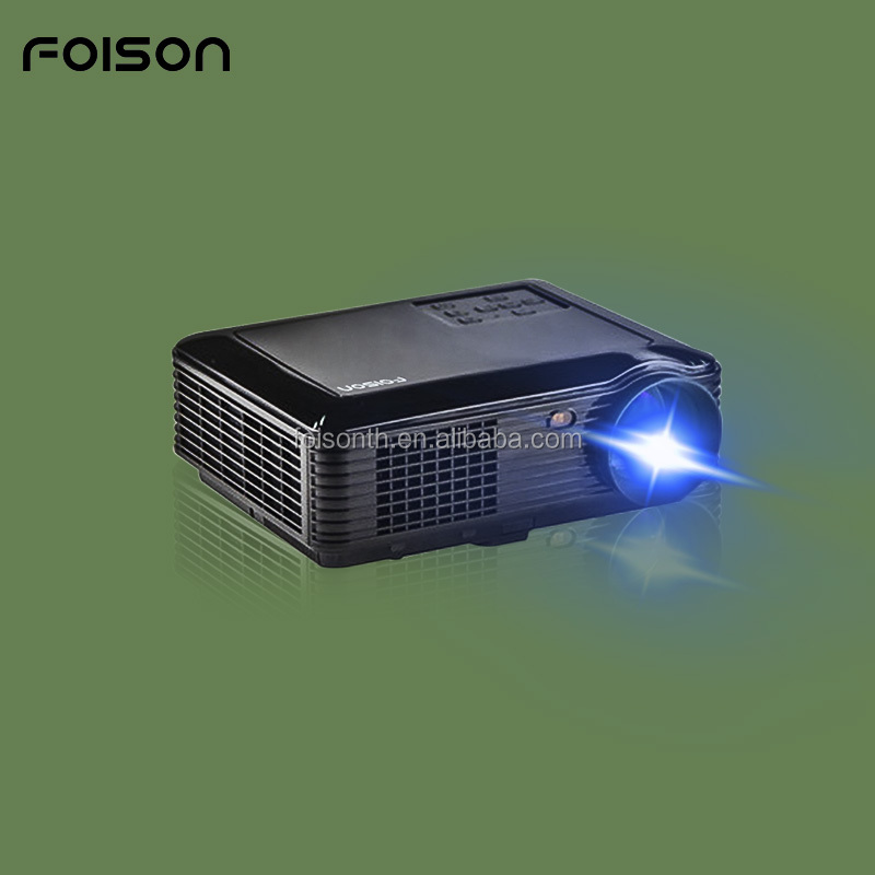 Suitable for Home Movie 1080P Full HD High Resolution and High Bright Big Screen projector with 1GB RAM 8GB ROM
