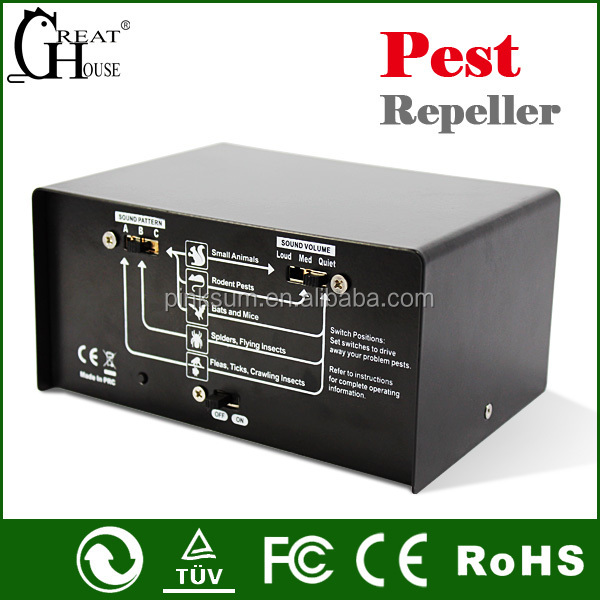 GH-324 Electronic Pest Repeller Bat Repeller Mole Repeller