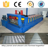 steel glazed roofing tile profiling machine