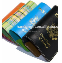 Hot selling embossed pu passport cover