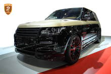 Top quality carbon fiber body kits mansoy style for Range-Rover 2015