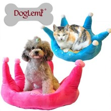 Pet Dog Home Care Products for Dogs Fashion Crown Design Bed for Dog