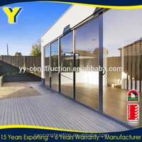 Design Build Sydney show Australian standards Aluminum Sliding door/commercial glass entry door