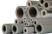 PE Foam Aluminium Foil Covered Polyethylene Pipe Insulation