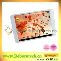 Chinese Famous ZincPad Series Tablets from Reborntech 7.85 inch Dual Core