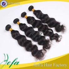 overseas cheap indian hair best 7a body wave hair weave