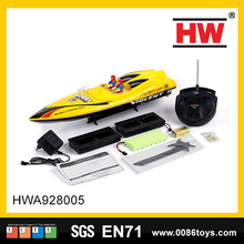 Hot selling model car 4 Channel Remote Control Boat Toys