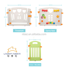 China Factory Provide Good Product Plastic Folding Baby Safety Gate