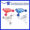 Hot selling promotional hearted shape souvenir plastic body massager for promotionABMA165