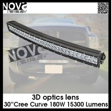 Wholesale 3D Optic 30 Inch Curve C ree Chips Led Off-road Light Bar For Truck