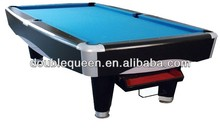 9ft Slate Billiard Table with solid wood