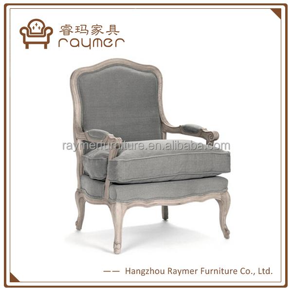 antieke franse landelijke stijl donker grijs linnen houten salon ...