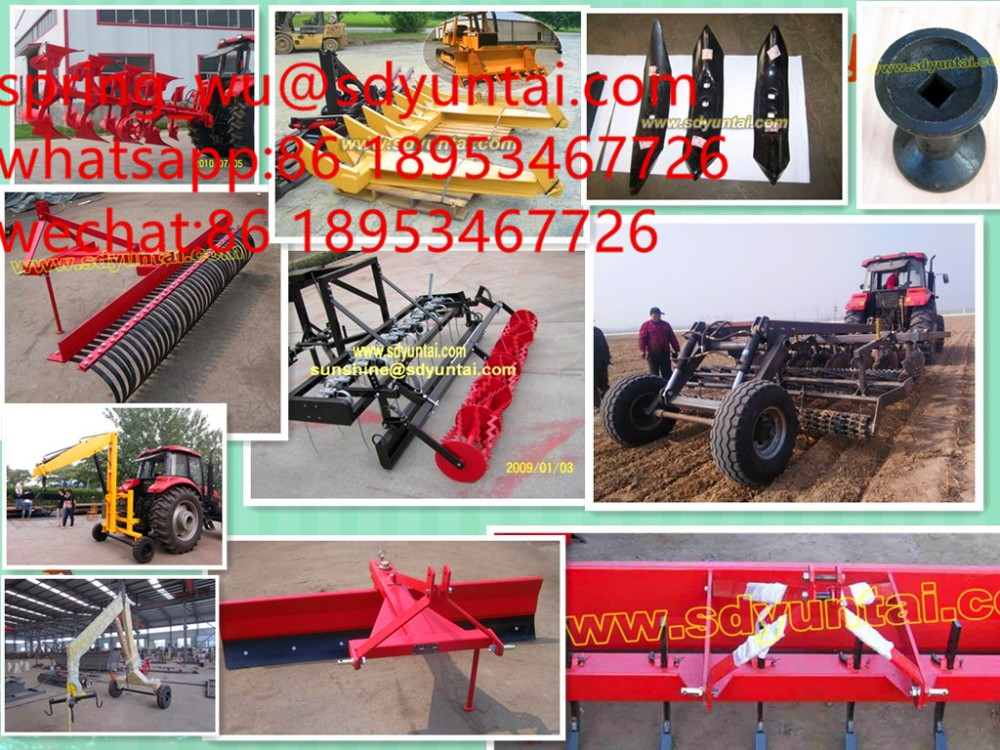 tractor mounted 9G lawn mower, grass cutter, lawn mower