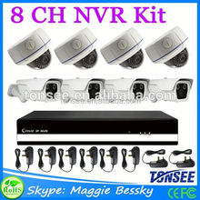 8CH NVR kit 960P wifi IP Camera system with P2P Networking Tool Ip Camera Module