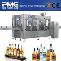 2015 new type glass bottle wine bottling machine / alcohol drink filling machine