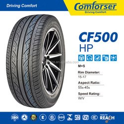 Blue colored car tires COMFORSER not used tyres radial passenger car tire buy car from china