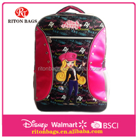 Wonderful Design of Wholesale Children School Bag Backpack for Girls with Elegant Printing