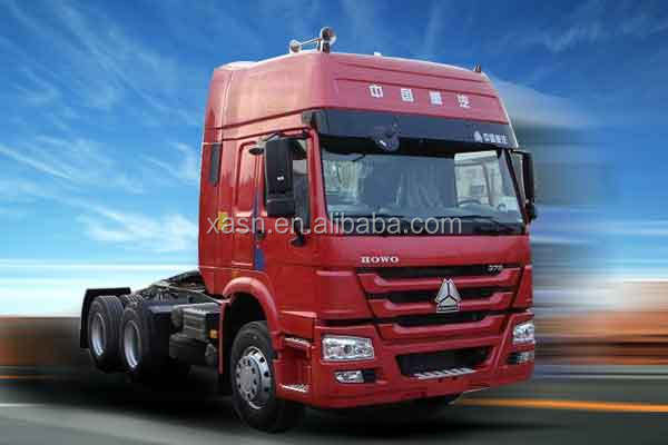 10 rounds 371hp payload lowest price HOWO6x4 tipper tractor truck