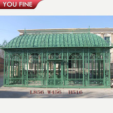 2017 Large Outdoor Garden Metal Conservatory Gazebo For Sale