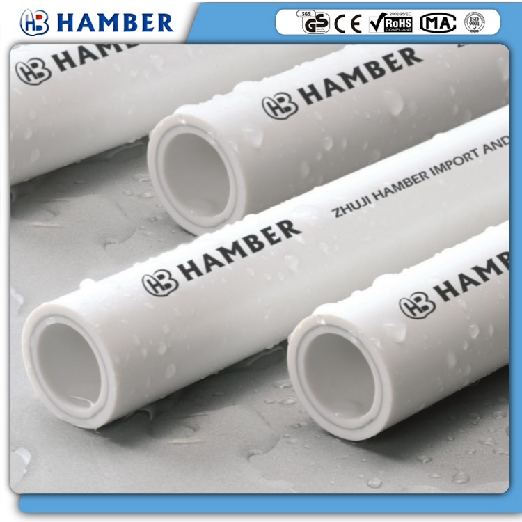 wholesale ppr pipes brand white new style ppr pipe for hot water supply systems custom high quality gray ppr pipe 110mm