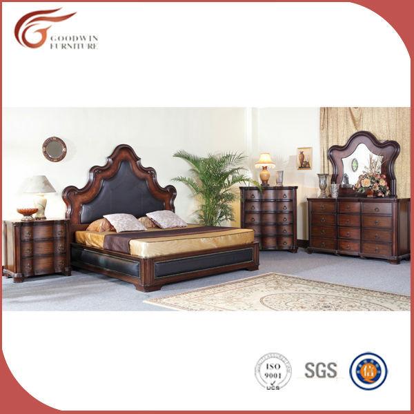 Billige meistverkauften antiken schlafzimmerm bel klassiker leder bett hochwertige - Hochwertige schlafzimmermobel ...