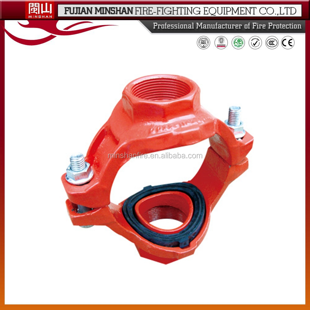 4-way mechanical coupling pipes joint