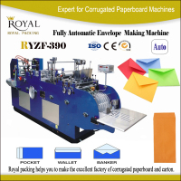 RYZF-390 envelope folding gluing machine