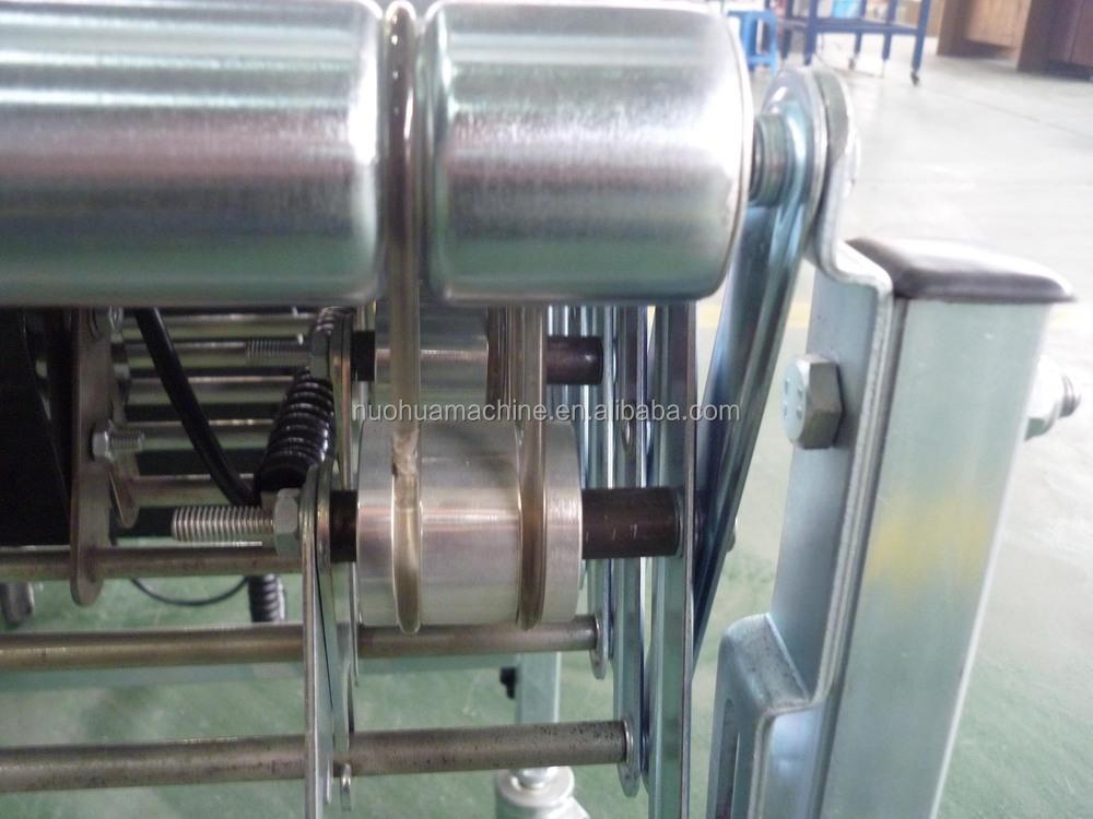 Powered Flexible Roller Conveyor Material Handling