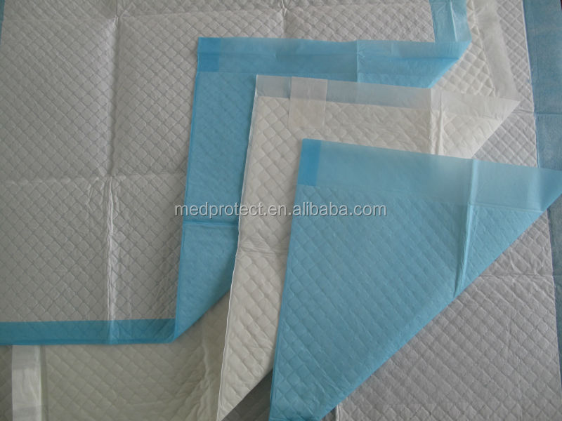 Super absorbent urinal pads medical underpad disposable underpad for incontinenced