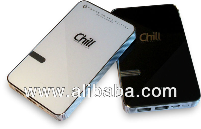 Chill PB-8000 PowerBank USB Battery, A-Grade 8000mAh Li-Polymer Cells