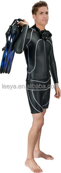 wetsuit 2mm vs 3mm / men in rubber wetsuits W-04