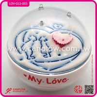 Acrylic sand paperweight wedding small gift