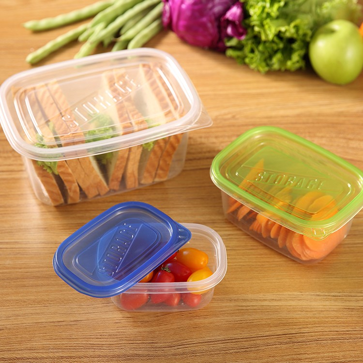 Wholesale High Quality Disposable Plastic Food Packaging Containers For Freshness pRESERVATION