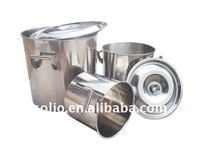 Polish Stainless Steel Commercial Soup Pots