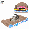 Functional Cat Toys Various Shaped Corrugated Cardboard Cat Scratcher
