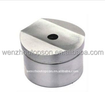 stainless steel handrail balustrade/post top supporting hollow base cap