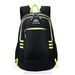 2018 China exports light and cheap folding backpack