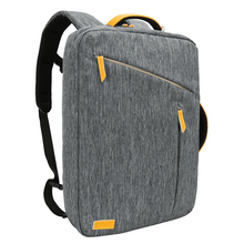 Cheap branded Canvas fashionable business laptop bag backpack