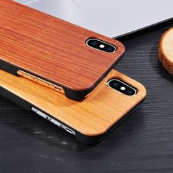 Craved Wooden+PC Phone Case for iphone 7 plus Case,Wholesale Price Wood Phone Cover for iPhone,mobile phone accessories