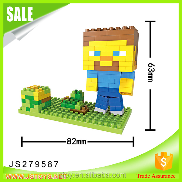 JSTOYS factory 2017 newest building block mini blocks for wholesale