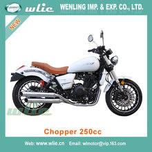 Popular in america and europe petrol motorcycle manufacturers off-road vehicle Cheap Racing Motorcycle Chopper 250cc