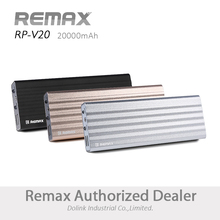High Capacity Wholesale Portable Remax CE ROHS Dual Usb 20000mah Power Bank For mobile Smartphone