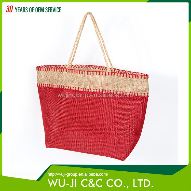 Prompt delivery eco-friendly reusable shopping bag for stores used