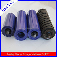 carbon steel idler roller and frame, trough roller group belt conveyor self aligning roller idler