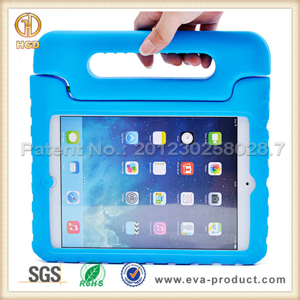 kids shockproof tablet case convertible handle stand for ipad mini rubber case