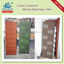 Galvalume roof tile price stone coated metal roofing