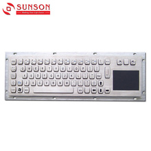 2018 New Hot Sale Sunson Metal Keyboard For Financial Equipment